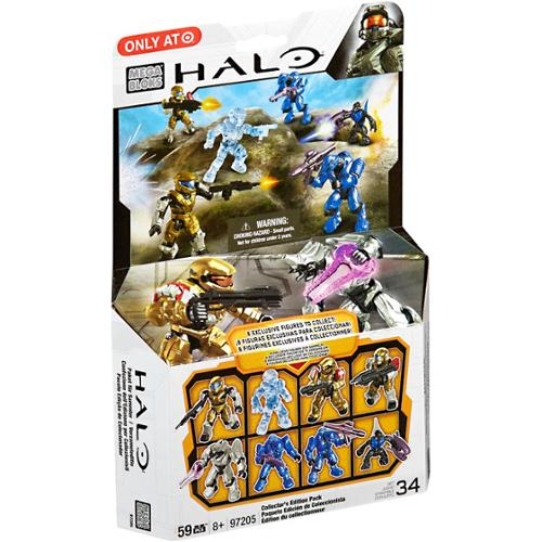 Halo Collector's Edition 8-Pack Set Mega Bloks 97205 by