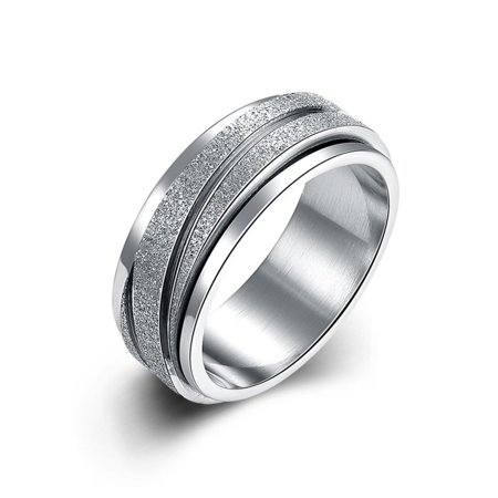 Men Rotable Creative Retro Gear Ring Unique Fashion Finger Rings as Perfect Gift