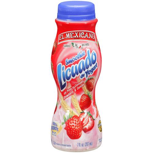 El Mexicano Strawberry & Cereals Smoothie, 7 oz