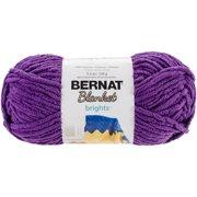 Bernat Blanket Brights Yarn-Pow Purple