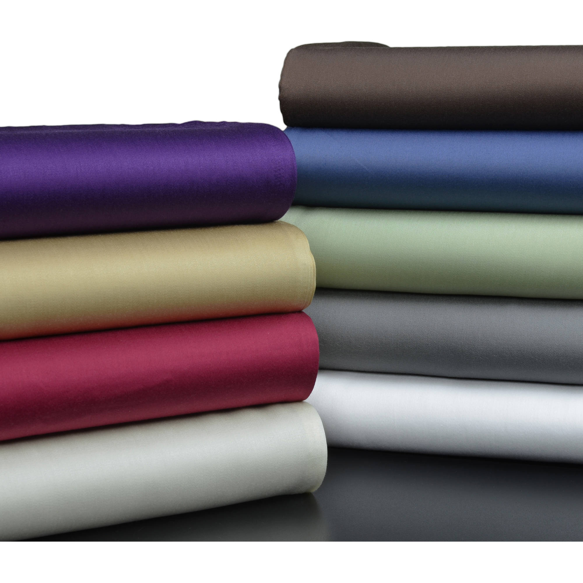 Best Bamboo Sheets - Brielle 100-Percent Rayon Bamboo Sheet Set, Twin, White Review
