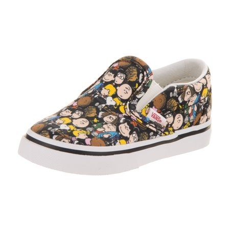 Vans Boy's Classic Slip-On Skateboarding Sneaker - Vans Slip On Toddler