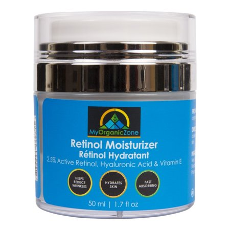 Retinol Cream, Best Face Moisturizer & Skin Hydrator, Anti Aging, Anti Wrinkle Moisturizing Face Lotion, Helps With Dry Skin or Sensitive Skin, Tinted Eye Cream (1.7 fl.oz/50