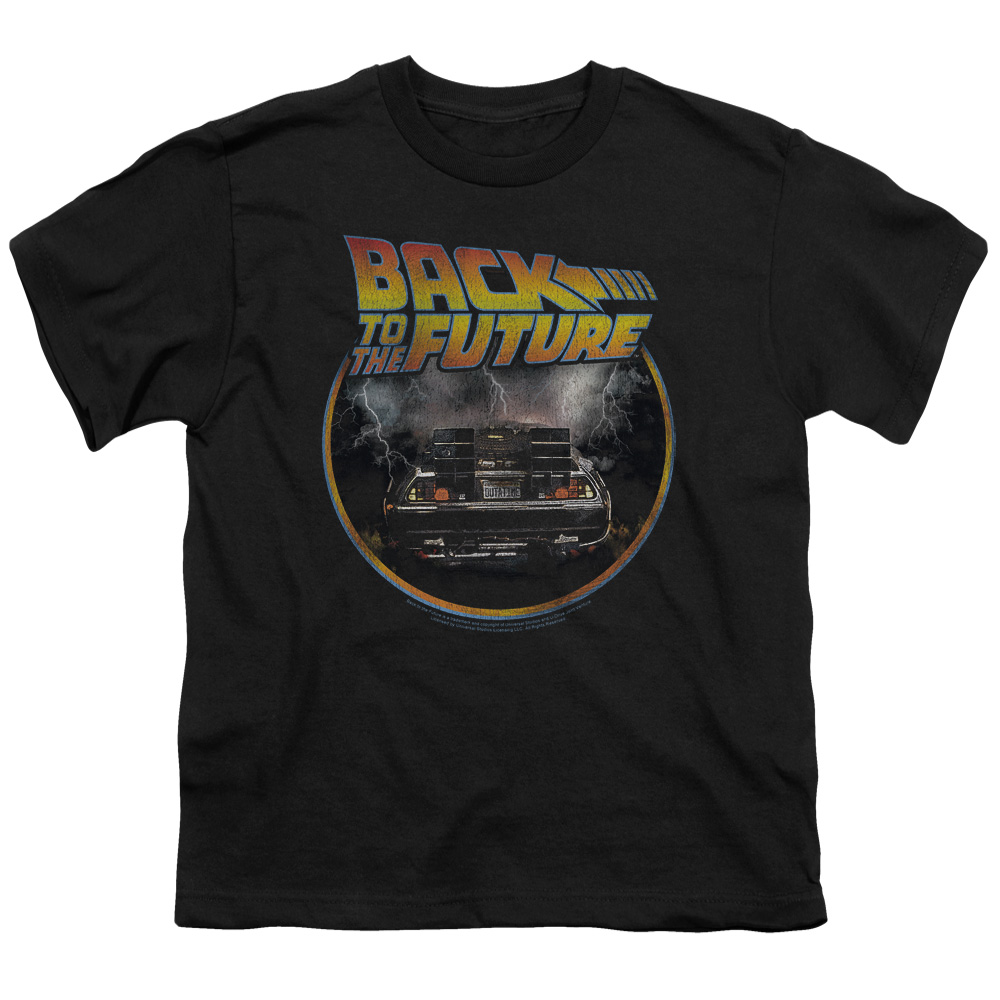 BACK TO THE FUTURE/BACK-S/S YOUTH 18/1-BLACK-MD