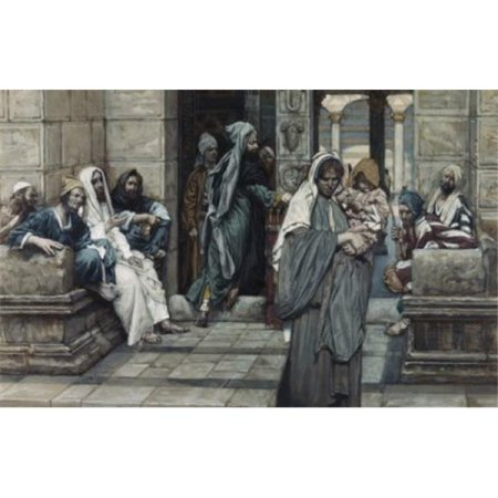 Posterazzi SAL999211 The Widows Mite James Tissot 1836-1902 French Poster Print - 18 x 24 in. - image 1 de 1