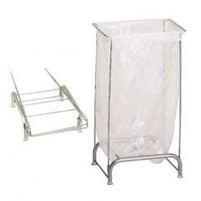 R&B Wire 699NC Stationary Collapsible Tension Frame Hamper - Chrome