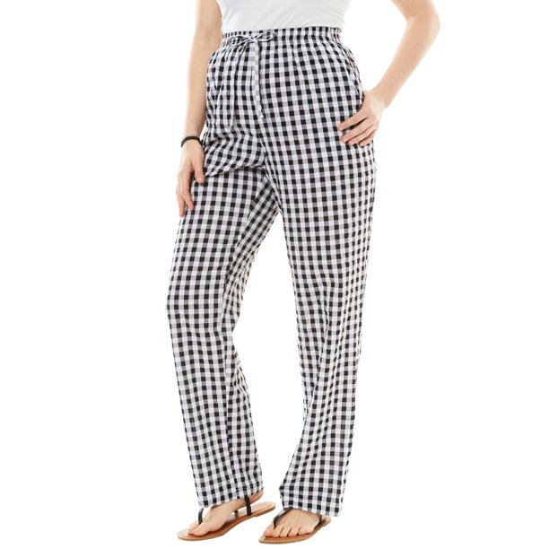 Woman Within Woman Within Women S Plus Size Seersucker Pant