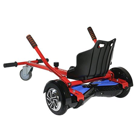 Hoverkart Go Kart Conversion Kit Hoverboard-Safer Kids-All Heights All Ages Self Balancing Scooter-Compatible Most Hoverboards- Hover Board Not Included ()