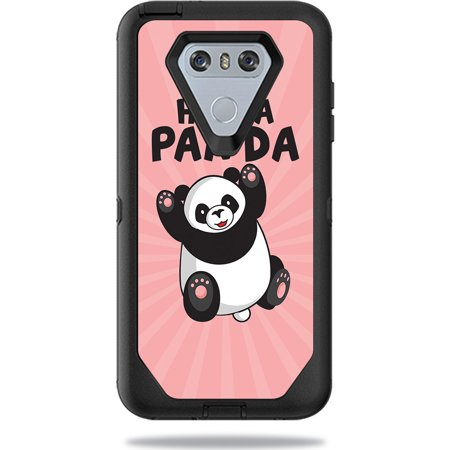 Skin For OtterBox Defender LG G6 Case – Hug A Panda | MightySkins Protective, Durable, and Unique Vinyl Decal wrap cover | Easy To Apply, Remove, and Change Styles | Made in the (Like A G6 Best Remix)