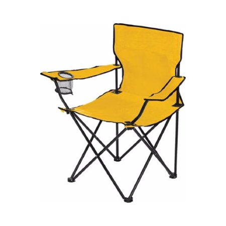 Dick's Sporting Goods Logo Chair - Great for Camping, Back Yard, Sporting Events (Gold), VERSATILE - Sturdy canvas folding chair for camping, sporting events.., By Dicks Sporting Goods Ship from US ()
