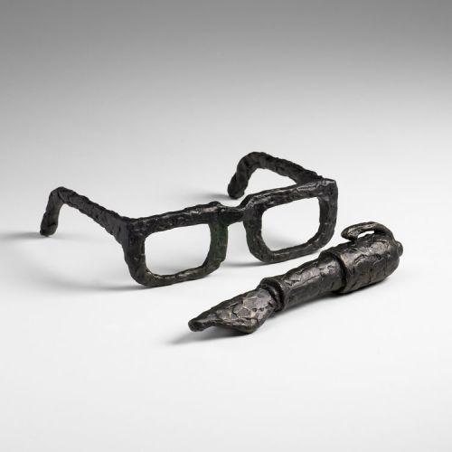 "Cyan Design 03070 2"" Sculptured Spectacles by Cyan Design"