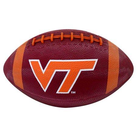 Virginia Tech Hokies Mini Rubber Football (Personalized Mini Footballs)
