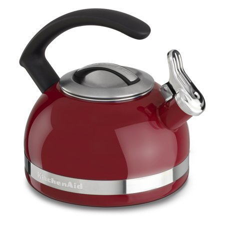 KitchenAid ® 2.0-Quart Kettle with C Handle and Trim Band, Empire Red (KTEN20CBER)