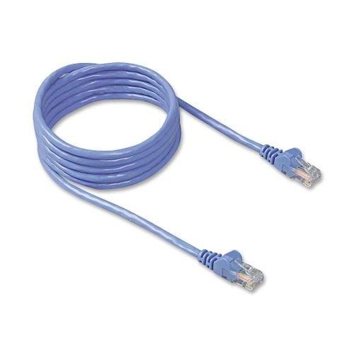 Belkin A3L79150BLUS Cat 5E Snagless Ethernet Cable 50ft Blue