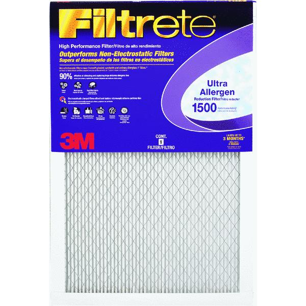 3M 2000DC-6 Filtrete��� Ultra Allergen Furnace Filters - 6 Pack Do Not Use