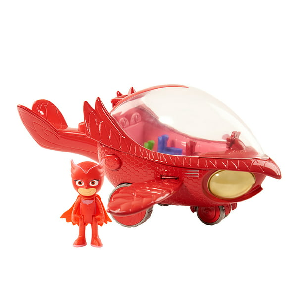 PJ Masks Deluxe Vehicle - Owlette and Owl Glider