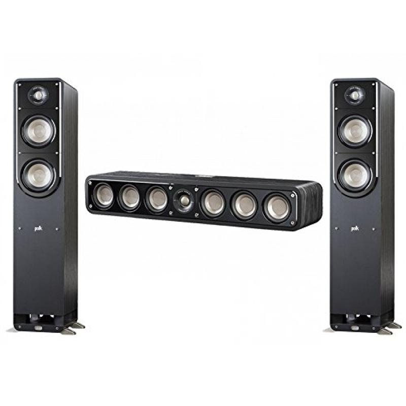 Polk Audio Signature 3.0 System with 2 S50 Tower Speaker, 1 Polk S35 Center Speaker by Polk Audio