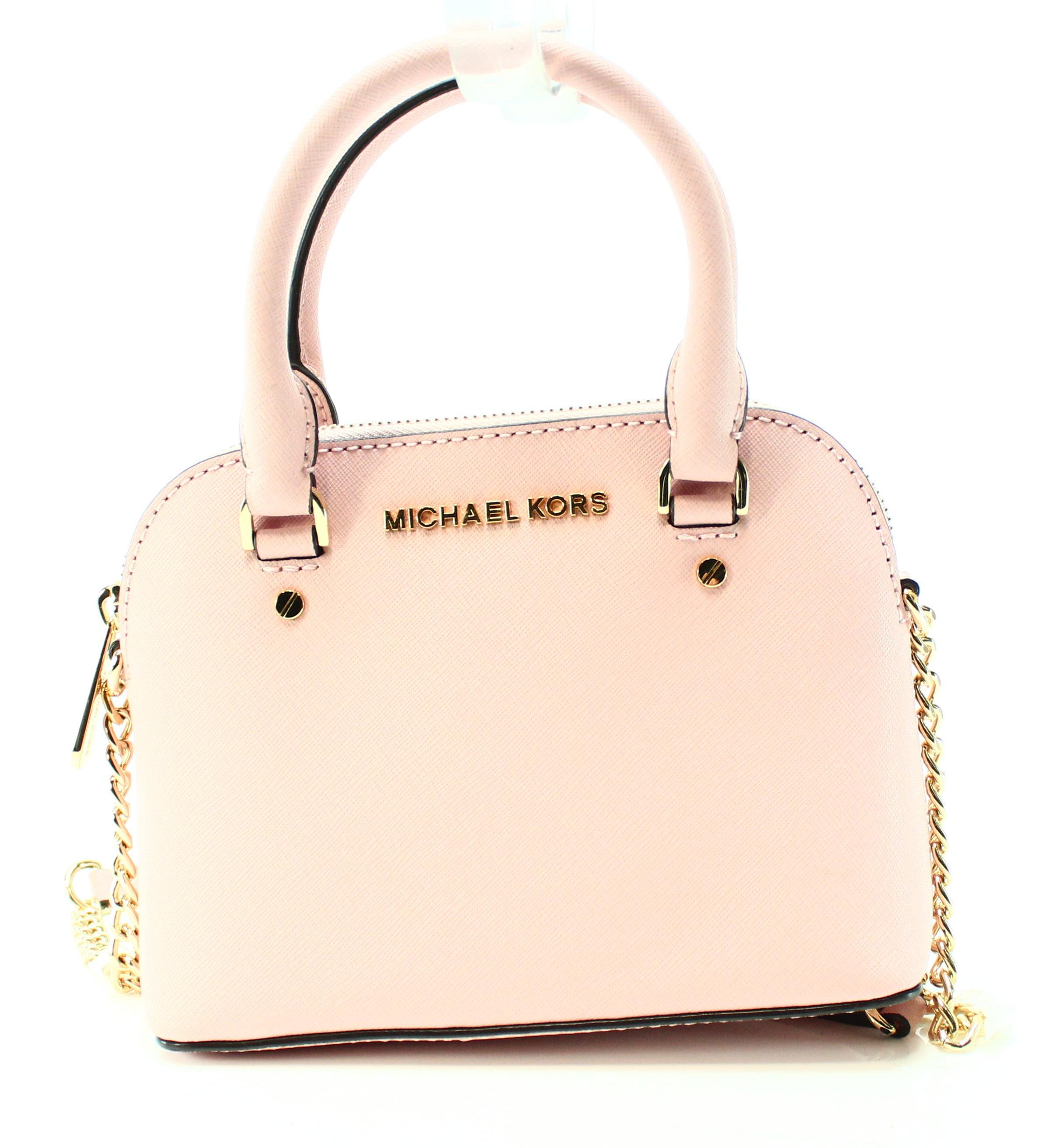 4fdbaa021e6e ... inexpensive michael kors new pastel pink saffiano cindy mini crossbody  bag purse walmart 75ddb b844c