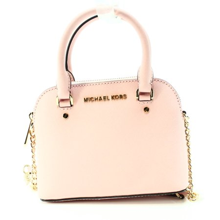 f7e035ead4f Michael Kors NEW Pastel Pink Saffiano Cindy Mini Crossbody Bag Purse