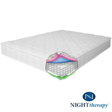 Night Therapy Spring 8 Inch Mattress And Bifold Box Spring Set Twin
