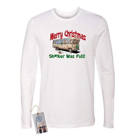 Cousin Eddie Shitter is Full  Mens Long Sleeve T-Shirt