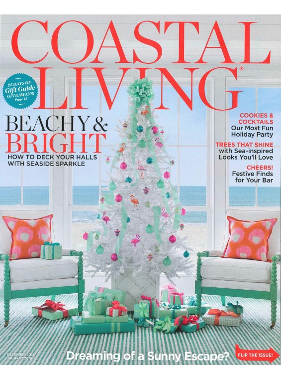 Incroyable Time Inc. Magazine Coastal Living Magazine