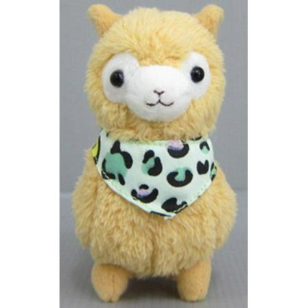 "Bandana Alpaca 7"" Prime Plush (Brown), Approximate 7"" By Llama Ship from US"