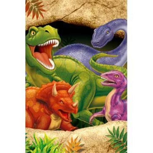 Dinosaur Adventure Table Cover (each) - Party Supplies