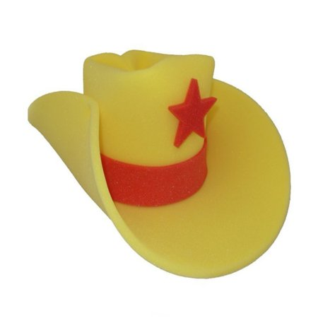 30 Gallon Foam Cowboy Costume Hat Pick Color 10 20 Giant Big Huge Jumbo - Costume Cowboy Hat