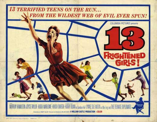 13 Frightened Girls POSTER Movie Half SHeet A (22x28) by Pop Culture Graphics