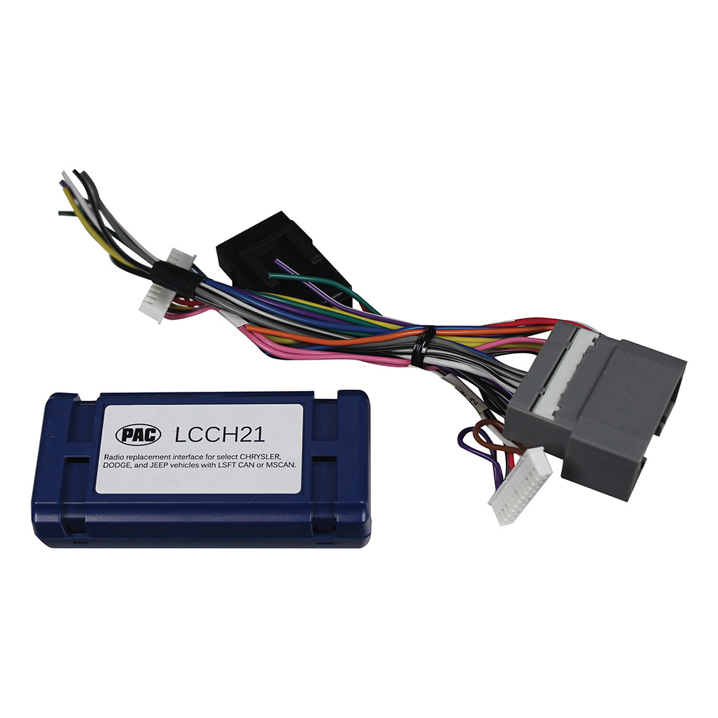 Pacific Accessory Radio Replacement Interface - Car Radio (lcch21)