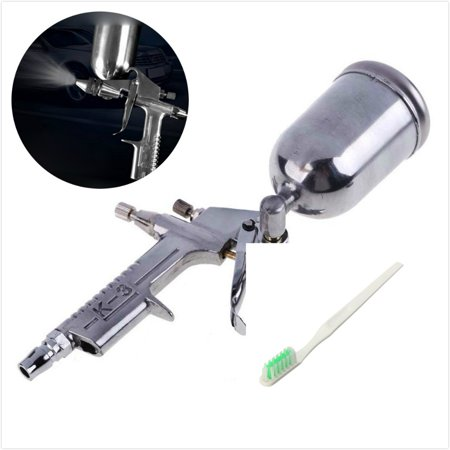 J PRO GRAVITY FEED Mini Handheld Air PAINT Spray Sprayer Compressor Tool W/Aluminum Cup 0.5mm Precision Nozzle used for