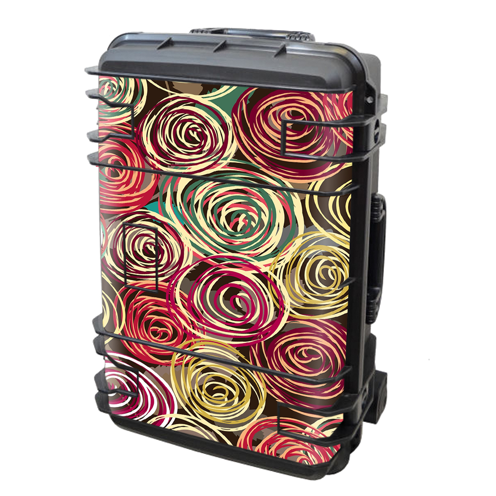 Skin Decal Vinyl Wrap for Seahorse SE-920 Case stickers skins cover/ Round Swirls Abstract