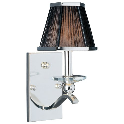 Maxim 32002BTPS Elite Wall Sconce - 7W in. Plated Silver