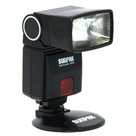 Camera Flash - Sunpak Df3000nx DF3000 Digital Flash for Nikon DSLR Cameras