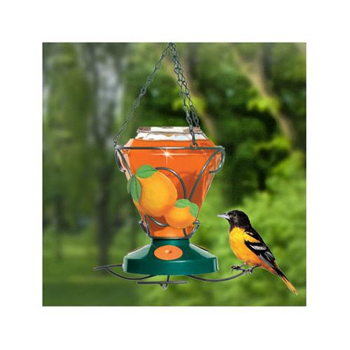 Perky-Pet Oriole Feeder - Deluxe Hand Painted, 24oz Capacity