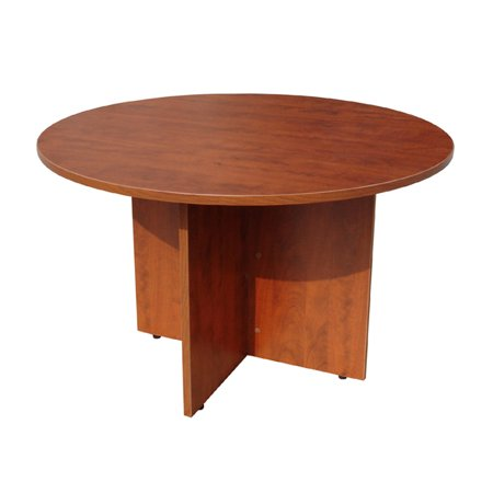 Boss Office Products Cherry Inch Round Conference Table Walmartcom - 84 inch conference table