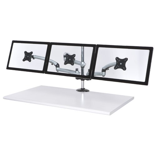 Cotytech Spring Arm Height Adjustable 3 Screen Desk Mount