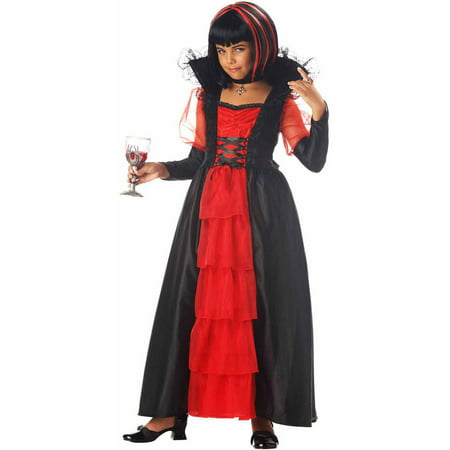 Regal Vampira Girls' Child Halloween - Make De Vampira Para Halloween