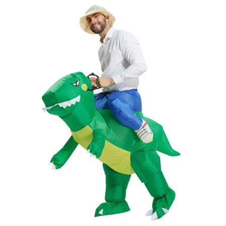 U-MAX Inflatable Adult Costume Party Dinosaur Unicorn for Halloween](Halloween Scary Costumes Party City)
