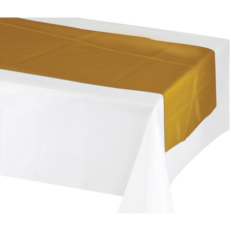 Generic Metallic Table Runner Gold