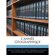 L'Annee Geographique