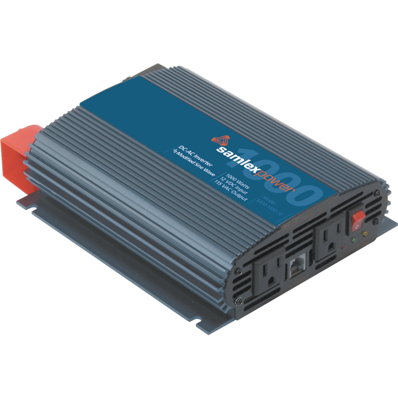 SamlexPower SAM-1000-12 Sam Series 1,000W Modified Sine Inverter