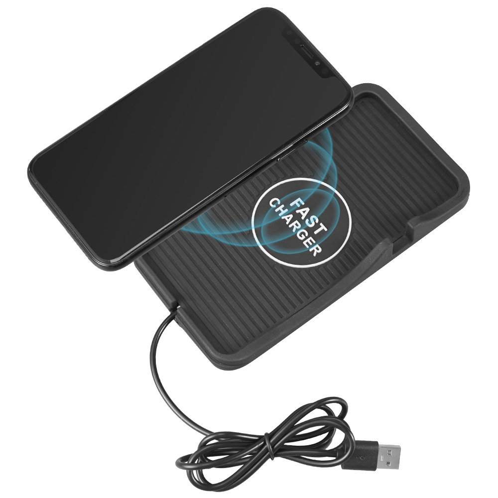 Wireless Charger Luxmo Qi Enabled 10W Fast Wireless Charging Pad Compatible Galaxy S9+ S9 Note 8, Wireless Charger Compatible iPhone Xs MAX XR X 8 Plus 8 and All Qi-Enabled Phones