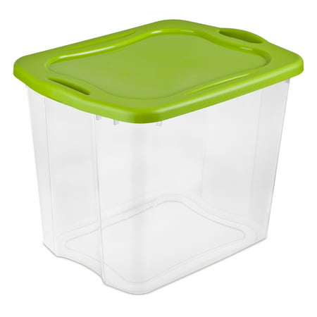 Sterilite 95 Quart EZ Carry- Spicy Lime (Available in Case of 4 or Single Unit)