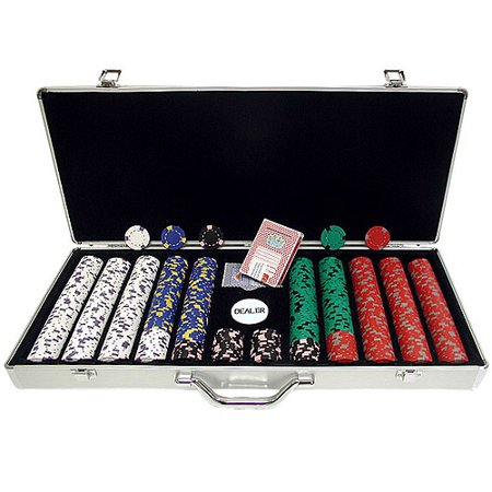 - Trademark Poker 650pc 13g Professional Casino Clay Chips with Aluminum Case