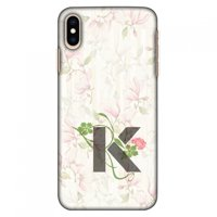 iPhone Xs Max Case, Ultra Slim Case iPhone Xs Max Handcrafted Printed Hard Shell Back Protective Cover Designer iPhone Xs Max Case (2018) - Floral Vines- K