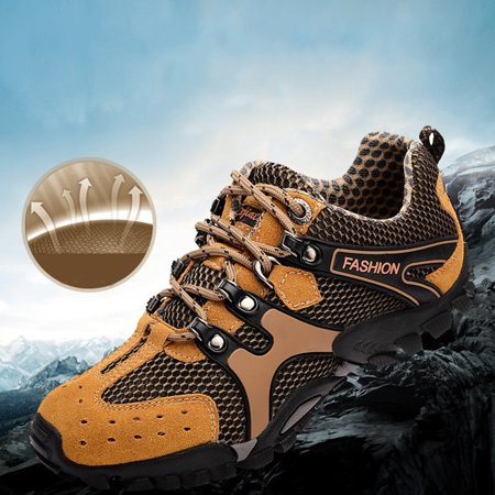 Meigar Men's Mountain Climbing Outdoor Hiking (Best Shoes For Mountain Hiking)