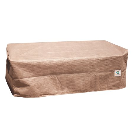 Duck Covers Elite 32 in. Rectangular Patio Ottoman/Side Table Cover