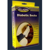 Diabetic Socks Small White - Item Number 11600LPR - Large - 1 Pair / Pair